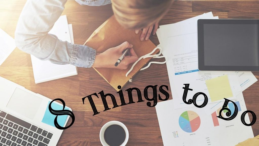 8 things to do in the first year of business